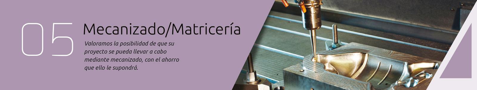 mecanizado y matricería