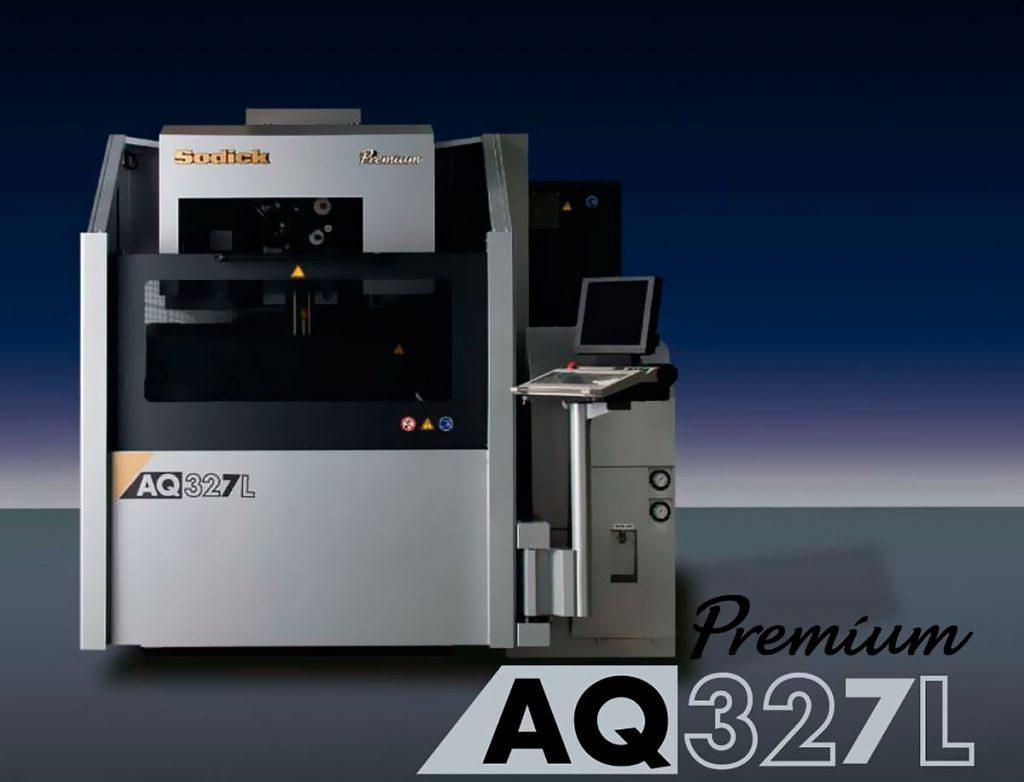 Nueva maquina AQ327L moldcenter