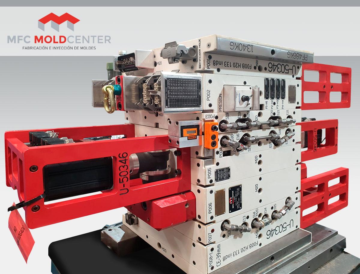 fabricación de moldes de inyección de alta producción
